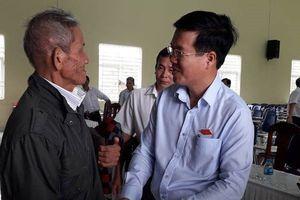 Ông Võ Văn Thưởng: 'Không có chuyện khi đương chức làm sai, về hưu hòa cả làng'
