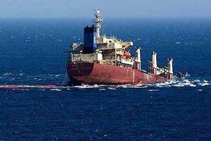 Chìm tàu ngoài khơi Indonesia, 7 thuyền viên mất tích