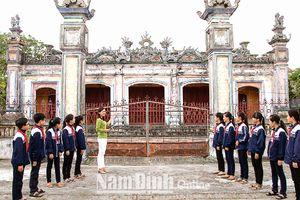 Nam Định: Giáo dục ý thức bảo vệ di sản văn hóa cho thế hệ trẻ