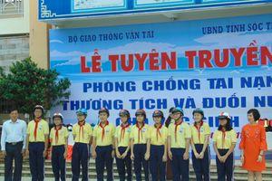Học sinh ở Sóc Trăng được học kỹ năng phòng chống đuối nước