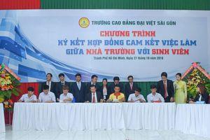 Trường Cao đẳng Đại Việt Sài Gòn: Cam kết tạo việc làm cho sinh viên
