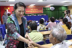 Chủ tịch Quốc hội tiếp xúc cử tri tại phường An Phú, thành phố Cần Thơ