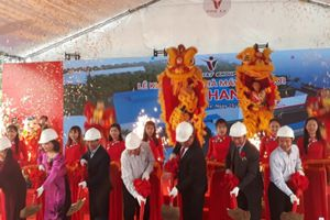 Bến Tre: Khởi công nhà máy dừa tươi công suất lớn nhất tỉnh