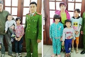 Cảnh sát tuần tra, giúp đỡ 6 cháu bé lạc đường trở về gia đình