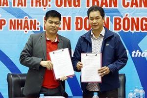 Liên đoàn Bóng bàn Việt Nam nhận 500 triệu tiền tài trợ