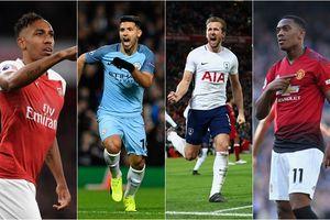 Vua phá lưới Premier League 2018/2019: Aubameyang sánh ngang Aguero