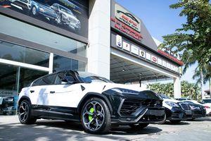 Cận cảnh 'siêu SUV' Lamborghini Urus thứ ba đặt chân đến Campuchia