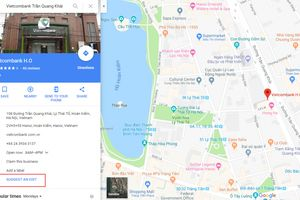 Kẻ xấu sửa số điện thoại trên Google Maps, lấy tiền của khách hàng