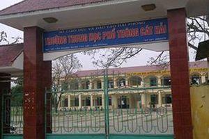 Hải Phòng: Nam sinh lớp 11 bị bạn cùng học đâm trọng thương