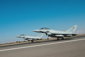Không quân Anh - Saudi phô diễn sức mạnh: Bất chấp tâm bão Khashoggi