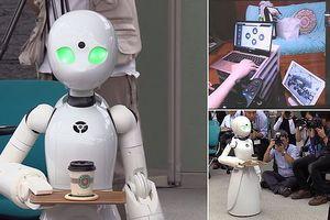 Quán cà phê sử dụng robot do người khuyết tật điều khiển