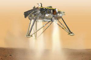 Tàu vũ trụ NASA hạ cánh xuống sao Hỏa sau chuyến đi 6 tháng