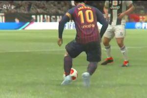 Kỹ thuật siêu đẳng của Lionel Messi trong FIFA 19