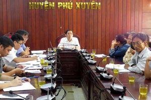 Phú Xuyên tăng cường tiếp dân, giải quyết dứt điểm các vụ việc phức tạp