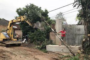 Xã Cần Kiệm, huyện Thạch Thất: Sôi nổi phong trào hiến đất làm đường