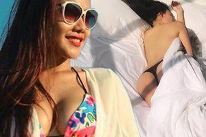 MC đài HTV tuyển chồng qua mạng lộ loạt ảnh nude trước ngày lâm bồn
