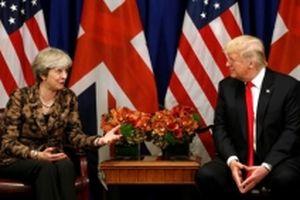 Tổng thống Trump quan ngại về quan hệ thương mại Mỹ - Anh thời hậu Brexit