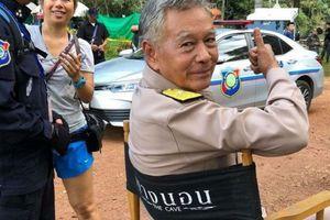 Khởi quay phim giải cứu đội bóng mất tích trong hang ở Thái Lan