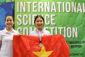 Học sinh Việt Nam tỏa sáng tại kì thi Khoa học quốc tế ISC 2018