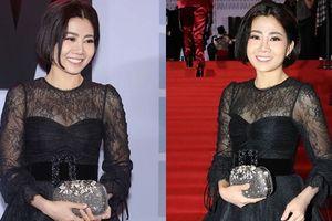 Mai Phương rạng rỡ trên thảm đỏ, đọ sắc cùng dàn mỹ nhân Việt