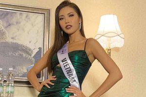 Minh Tú đẹp tuyệt trần quay trailer chính thức Miss Supranational phát trên Fox Life