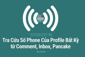 Tài khoản Facebook tại Việt Nam dễ dàng lộ số điện thoại chỉ bằng vài click chuột