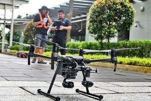 Singapore tính tung hàng loạt máy bay không người lái