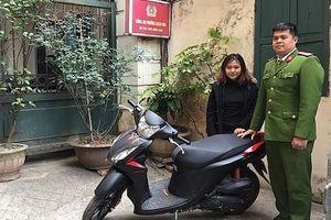 'Khoắng' xe máy của nữ sinh viên, sau hơn 1 giờ tên trộm đã bị túm
