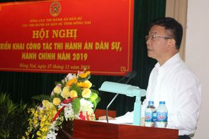 Bộ trưởng Lê Thành Long: 'Thi hành án Đồng Nai phải là chỗ dựa của người dân trong bảo vệ, thực thi công lý'