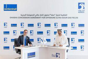 ADNOC trao 10% cổ phần tại dự án khí chua Ghasha cho Wintershall