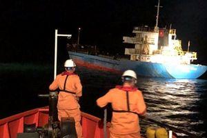 Cứu nạn thành công các thuyền viên trên tàu Hải Minh 36 va phải đá ngầm
