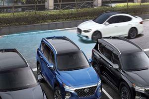 Cận cảnh Hyundai Santa Fe đẹp 'long lanh' chốt giá từ 1 tỷ đồng