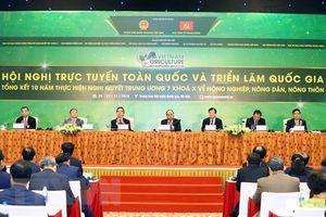 Khai mạc Hội nghị 10 năm thực hiện Nghị quyết Trung ương 7 khóa X