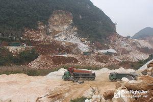 Doanh nghiệp khai thác khoáng sản ở Nghệ An tiếp tục kêu khó