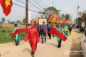 Chi tiết 7 di tích lịch sử văn hóa cấp tỉnh Nghệ An năm 2018