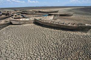 Hồ lớn thứ hai ở Malawi khô cạn trơ đáy chỉ trong vòng 4 tháng