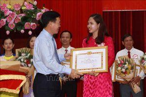 Thí sinh Trịnh Thị Thùy Vân đoạt giải nhất Hội thi Giảng viên lý luận chính trị giỏi toàn quốc