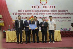 Hội Khuyến học Nghệ An: Triển khai khuyến học trực tuyến trên toàn tỉnh