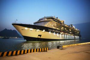 Cảng tàu khách quốc tế Hạ Long đón chuyến tầu đầu tiên