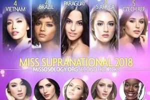 Tin được không: Minh Tú chỉ được chuyên trang sắc đẹp 'khó ở' xếp thứ 4 tại Miss Supranational 2018