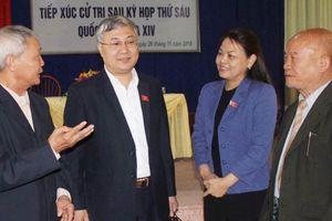 Đại biểu Quốc hội Nguyễn Thị Thu Hà tiếp xúc cử tri huyện Tân Yên, Bắc Giang