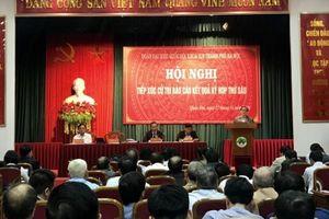 Bí thư Thành ủy Hoàng Trung Hải: Vấn đề ô nhiễm môi trường là thách thức lớn của thành phố
