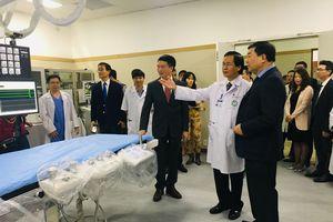 Khai trương phòng cấp cứu có hệ thống máy trị giá hơn 1 triệu USD
