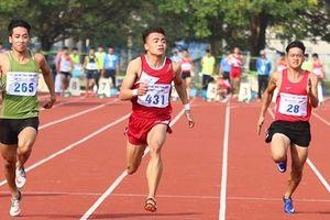 VĐV Ngần Ngọc Nghĩa 'mở hàng' HCV cho thể thao Công an nhân dân