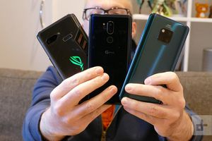 Đọ camera của LG G7 ThinQ, Huawei Mate 20 Pro và Asus ROG Phone