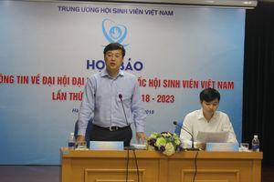 Gần 700 đại biểu dự Đại hội đại biểu toàn quốc Hội Sinh viên Việt Nam