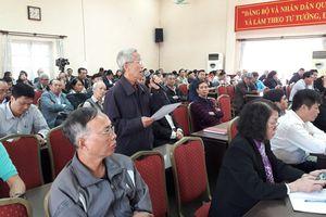 Lãnh đạo quận Hai Bà Trưng đối thoại trực tiếp với nhân dân