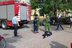 Hà Nội: Va chạm với xe cứu hỏa, người đàn ông đi xe máy tử vong thương tâm