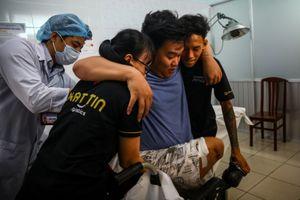 Chàng trai mất chân, 9 lần lên bàn mổ sau tai nạn giao thông