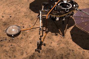 Hành trình vươn tới sao Hỏa của tàu vũ trụ InSight